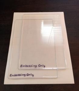 emboss resist card a