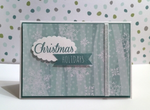 Christmas Holidays card a