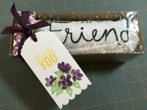 friend towel gift box d