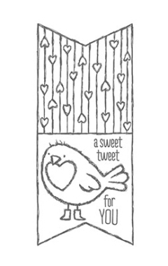 Hey, Valentine stamp set a